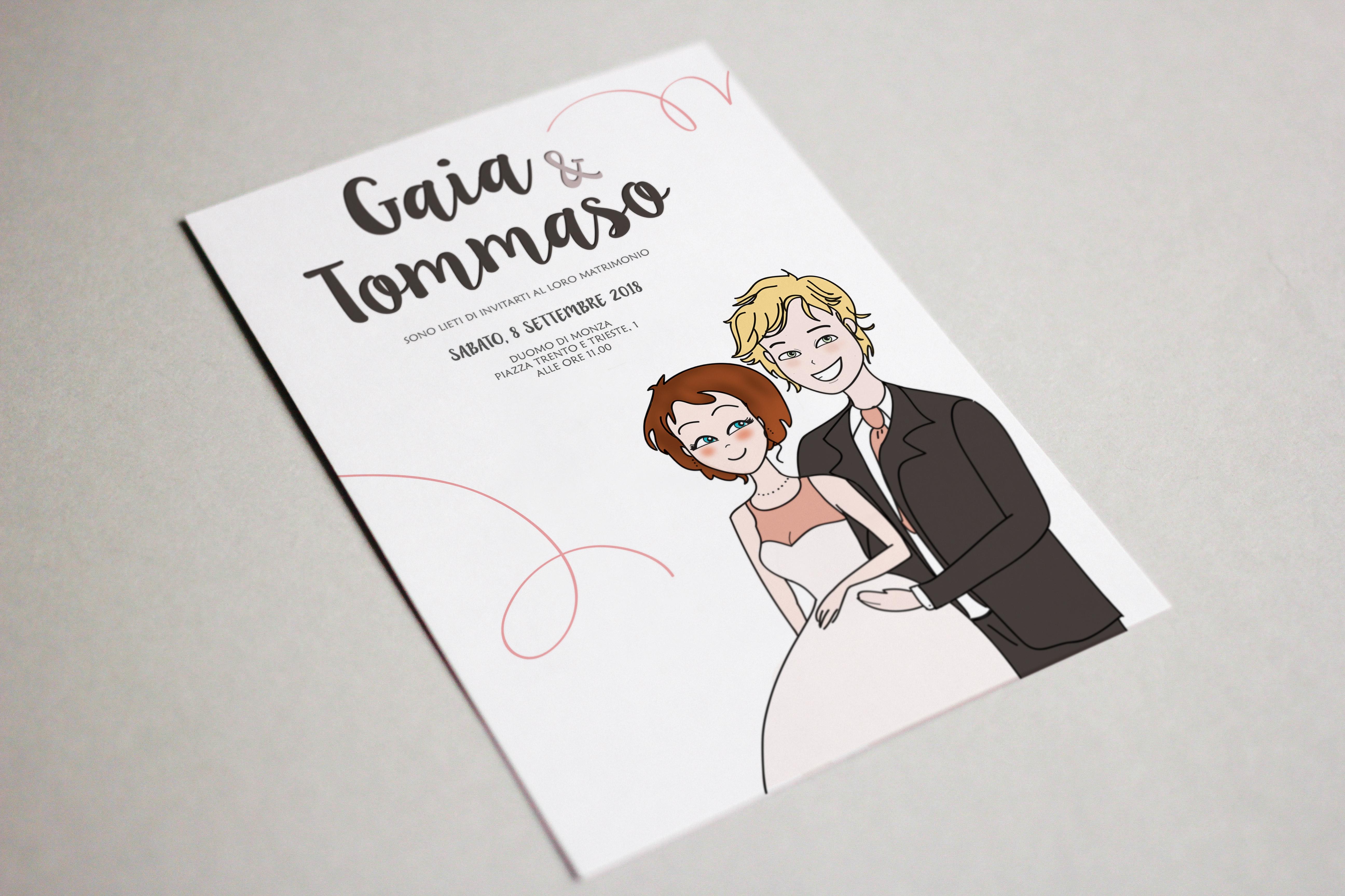 Partecipazioni Matrimonio Monza.Partecipazioni Di Nozze Illustrate Strategie Creative
