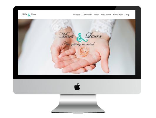 Siti web per matrimonio e lista nozze