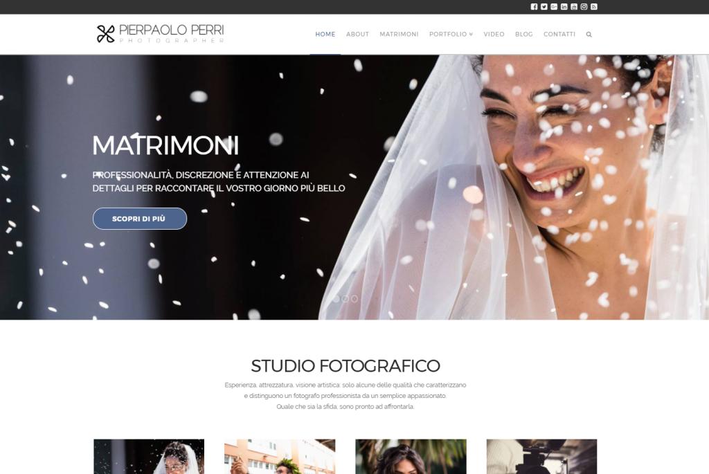 siti web per fotografi