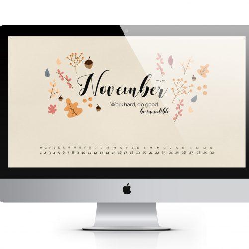 Desktop Wallpaper novembre