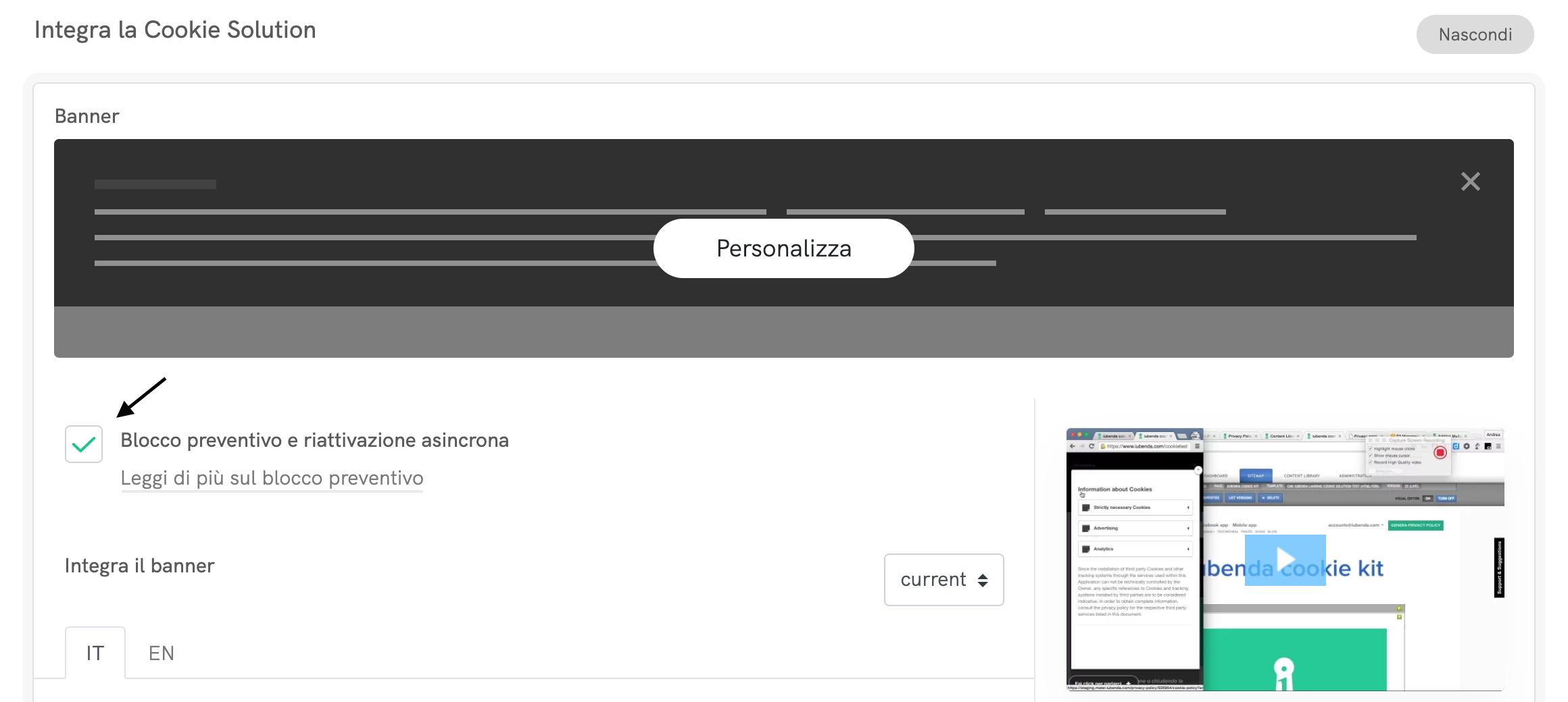 Come integrare Iubenda su WordPress